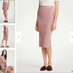 Ann Taylor Sweater Skirt